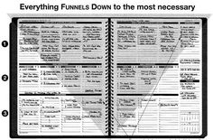 Free my version of the planner pad life planning motivationfocus funnel priorities and work flow to the most necessary with a planner pad terrific maxwellsz