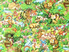 Fabri-Quilt - Paintbrush Studio 'Woodland Friends'