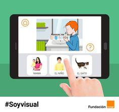 Fundación Orange lanza #Soyvisual, un sistema de comunicación aumentativa para personas con dificultades de comunicación y lenguaje