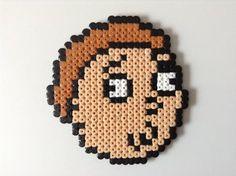 Rick and Morty- Morty Hama Bead Art by Dogtorwho
