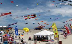 Wildwoods International Kite Festival this Memorial Day Weekend!   Ken you used to fly stunt kites in competitions like these.