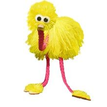 2017 New Toy Marionette Doll Muppets Animal muppet hand puppets toys wool rope ostrich Birl Marionette doll for kids(China (Mainland))