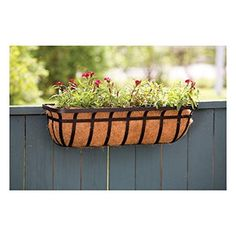 Window and deck planter. #flowers #plants