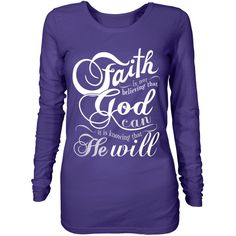 Check out Faith is believing that God Will - available for a limited time!