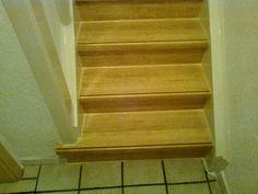 Selber machen!!: Alte Treppen mit Laminatsystemen verkleiden