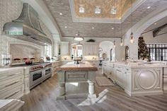 30 best kitchen ideas decor and decorating ideas for kitchen design 4 - Luxury Homess Luxury Kitchen Design, Best Kitchen Designs, Dream Home Design, Elegant Kitchens, Luxury Kitchens, Beautiful Kitchens, Dream Kitchens, Coastal Kitchens, Contemporary Kitchens