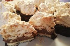 RECEPT na kokosky plnené krémom, džemom a máčané v čokoláde Krispie Treats, Rice Krispies, Desserts, Food, Tailgate Desserts, Deserts, Essen, Postres, Meals
