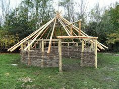 roof plan round house - Google Search