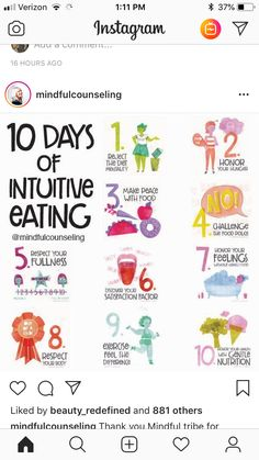 Intuitive eating MIndful Eating Weight Loss Wellbeing Health And Wellness Nutrition Tips, Health And Nutrition, Health And Wellness, Holistic Nutrition, Proper Nutrition, Diet Tips, Mental Health, Avocado Nutrition, Health And Fitness