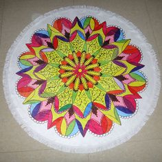 6 Colors Available 2016 New Summer Large Microfiber Printed Round Beach Towels With Tassel Circle Beach TowelCC217