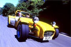 Zu den Sportwagen der 70er, zählt auch der Caterham Super Seven.