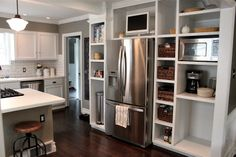 The Fat Hydrangea: Custom Kitchen Built-Ins = 75% Done!