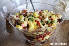 Go'kake   Det søte liv Crunches, Scones, Fruit Salad, Granola, Desserts, Food, Pineapple, Tailgate Desserts, Fruit Salads