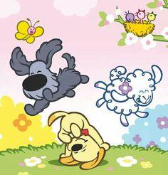 Uitgelezene 31 Best woezel en pip images   Cartoon kids, Kids, Belly painting LQ-33