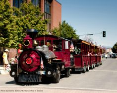 Hop aboard the Last Chance Tour Train for a unique view inside Helena's past and present. #winatrip