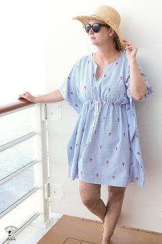 a8d4830abb Simple to Sew Swimsuit Cover-Up Pattern - The Polka Dot Chair
