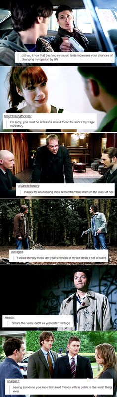 Supernatural + Tumblr