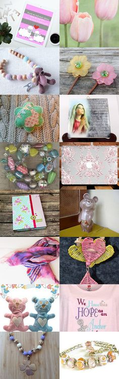Pretty Pastels by Rhian on Etsy--Pinned+with+TreasuryPin.com