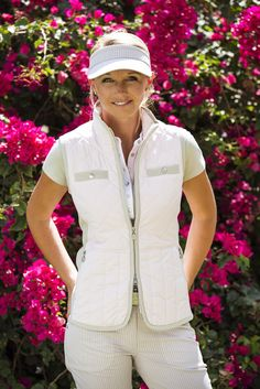 Daily Sports - Lookbook Golf Style, Bike Style, Women Golf, Ladies Golf, Golf Fashion, Golf Outfit, Ss16, Vest, Clothes For Women