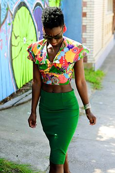 High Top Fade | Natural Hair | Yagazieemezi: Diamond of Trash and Caviar