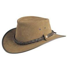 c9c44cef42d BC Hats Bac Pac Traveller Suede Australian Leather Review Australian  Outback Hat
