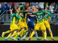 Legendary goal Martin Hansen in blessuretijd ADO Den Haag - PSV (2-2)