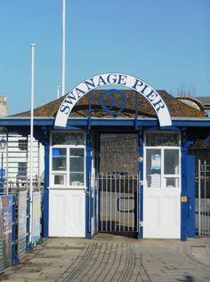 The Pier, Swanage, Dorset.
