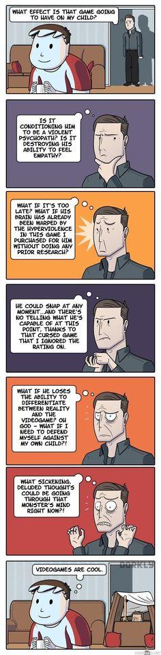 Video games are sooooo bad :DDD