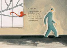 Emmanuelle Polack / Barroux: Kako, der Schreckliche. Mixtvision Verlag. #bilderbuch #nilpferd #zoo #illustration