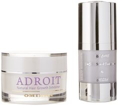 Omiera Facial Hair, Body Hair and Legs Hair Growth Inhibitor Cream Adroit,1.0 fl. oz. and Dark Circles Under Eye, Bags and Puffy Eyes Treatment Illumizone Skin Care Set, 0.5 fl. oz. *** Additional details at the pin image, click it  : Eye Care