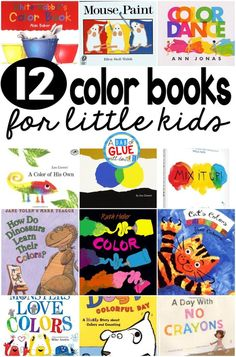 I LOVE these books about colors. When I am teaching colors to my students at the beginning of the school year, I always start each lesson with one of these books. My students love the books too!  Here are my favorite color books.