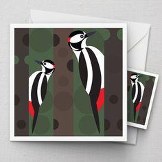 I Like Birds - The home of bird themed greeting cards and gifts. I Like Birds, Mosaic Birds, Bird Quilt, Bird Illustration, Glass Birds, Bird Design, Geometric Art, Fabric Painting, Bird Art