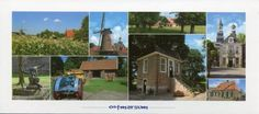 Oodmarsum is a small village in the north of the Nethetlands Postcrossing postcard