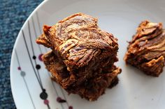Skinny Fudgy Banana and Peanut Butter Brownies