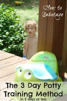 Ever wanted to hear the other side of the 3 day potty training method?? Here it is! LOL!!!  - @toulousentonic #pottytraining #toddlers #diapers