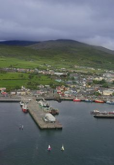 Dingle Town - one of the prettiest places on the earth.
