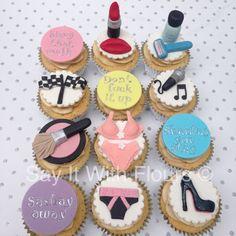 RuPaul's Drag Race cupcakes.