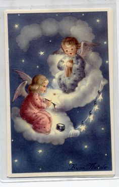 Angels Childrens with Toys Complete Set of 6 Postcards PC Circa 1930 A   eBay