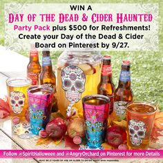 Sounds like the recipe for a spooktacular Halloween party! Enter for a chance to win: https://offerpop.com//campaign/774106