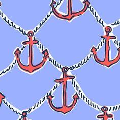 Lilly Pulitzer Summer '13- Anchors Away Print