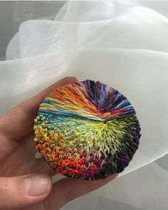 Marvelous Crewel Embroidery Long Short Soft Shading In Colors Ideas. Enchanting Crewel Embroidery Long Short Soft Shading In Colors Ideas. Crewel Embroidery, Hand Embroidery Patterns, Ribbon Embroidery, Cross Stitch Embroidery, Modern Embroidery, Embroidery Kits, Thread Painting, Thread Art, Diy Painting