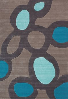 grey microfiber area rugs with blue round decoration for kids area rugs area rugs