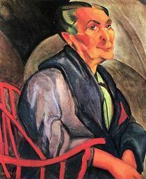 A mulher de cabelos verdes - Anita Malfatti