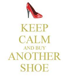 Guter Tipp ;-) #keepcalmandbuyshoes