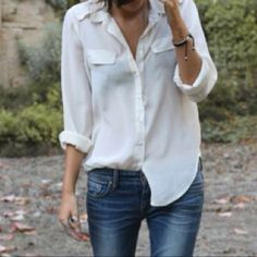 You can never have enough of these airy shirts!