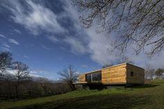 Экодизайн дома с плоской крышей - Look at Home