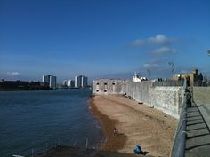 The Hot Walls. Old Portsmouth