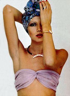 Francoise Guerin Paris L'Officiel magazine 1976.