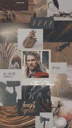 """MARVEL Wallpaper on Twitter: """"Avengers (Male) 2/7  Thor Odinson ⚡️ Loki Odinson 🐍… """""""