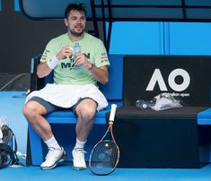 #AusOpen (@AustralianOpen) Stan Wawrinka Stan Wawrinka, Australian Open, Tennis Racket, The Man, Sports, Lovers, Twitter, Hs Sports, Sport